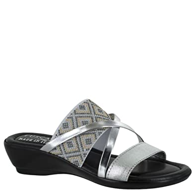 f39bebbfd Easy Street Palazzo Slip On Strappy Sandals