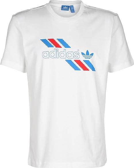 4cbdb706e0 Adidas - Adidas T-Shirt Uomo Bianca - XS, White: Amazon.co.uk: Clothing