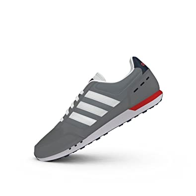 Adidas Neo City Racer F99332 Color Red Navy Blue Grey