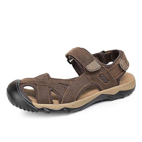 Sandalo sportivo marrone da uomo