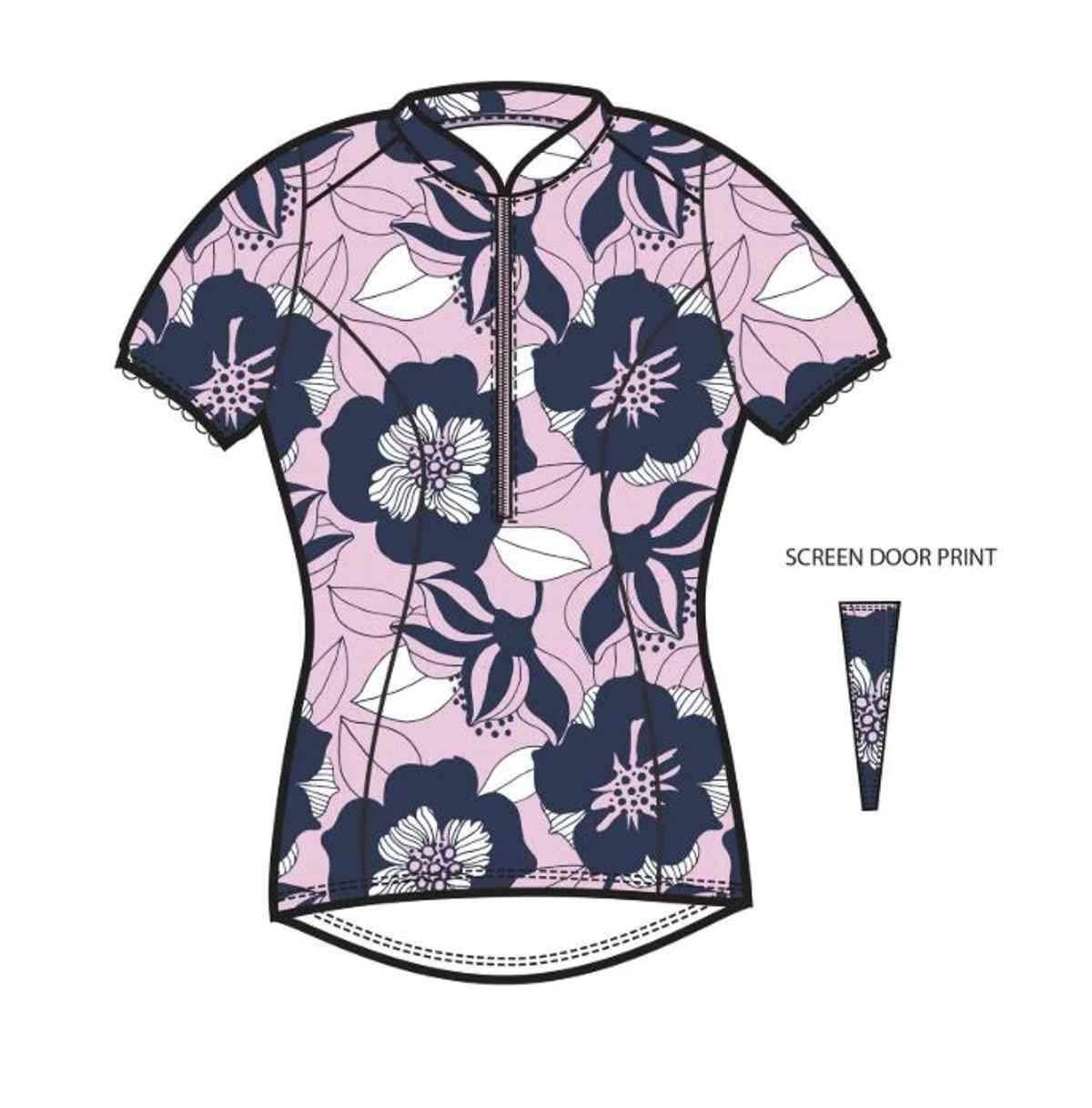 3225 Shebeest S-Cut Short Sleeve Jersey