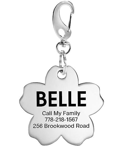 TagME Placas para Perros,Etiqueta de Identificación de Perro de Acero Inoxidable,Engraved Dog Tags Personalizables para Perros Pequeños Medianos y ...