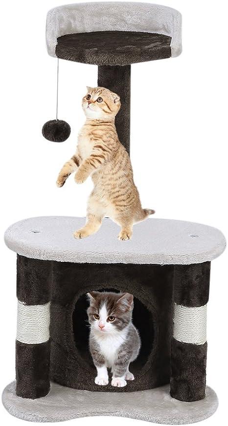 Sweepid Rascador Gato gato Muebles gato – Estantería para ...