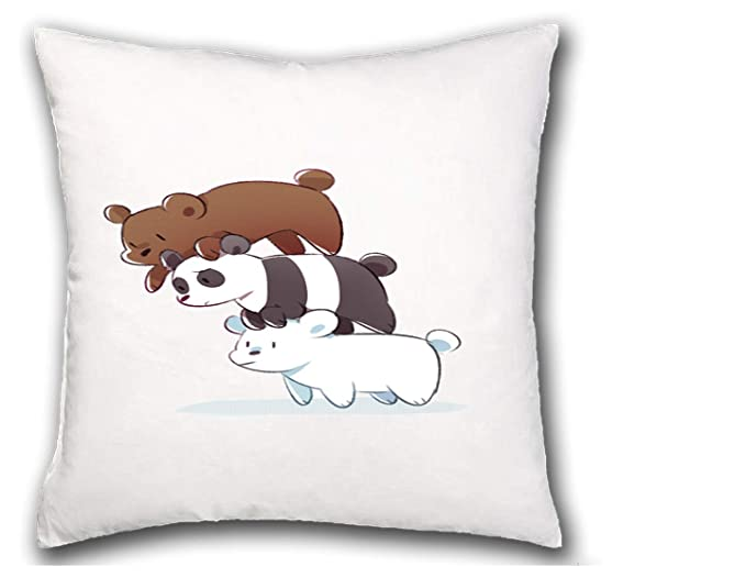 MERCHANDMANIA COJIN Somos Osos Polar Panda Pardo hogar ...