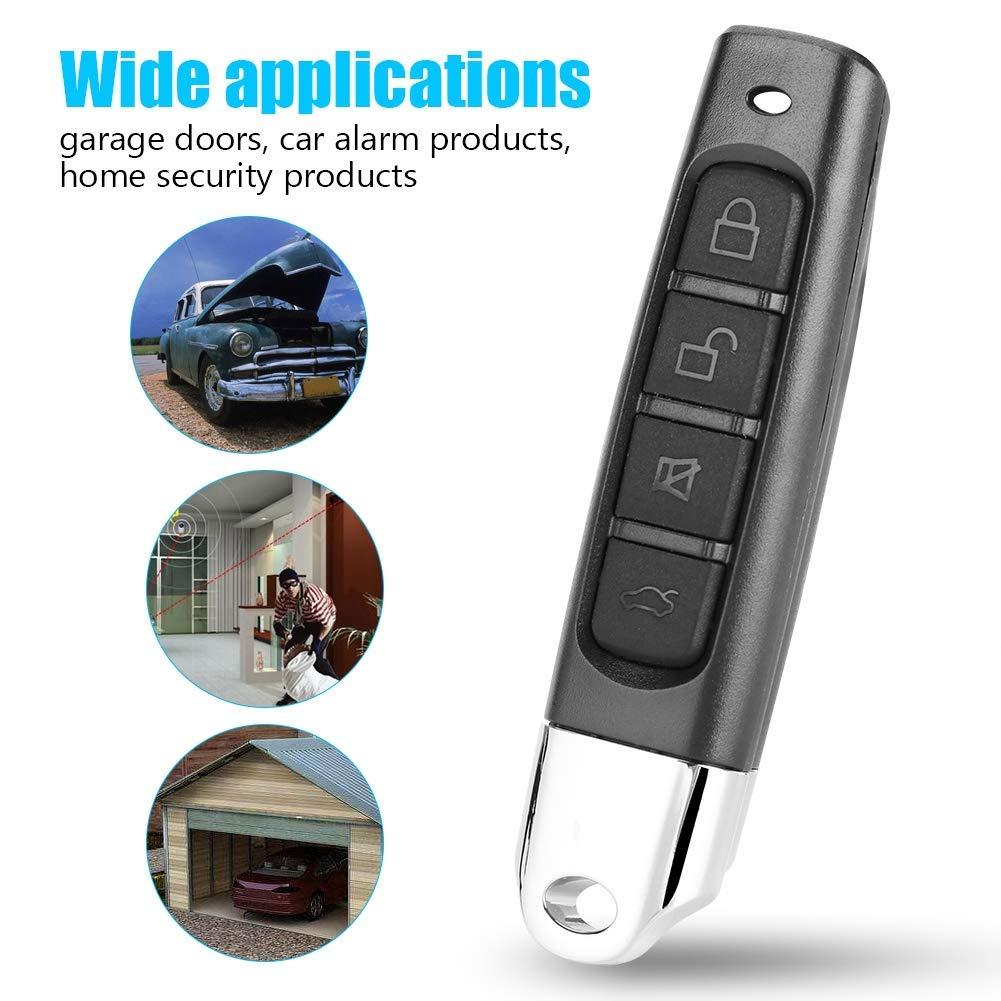 Home Garden Garage Door Remotes 433mhz Garage Door Opener Auto Remote Control Duplicator Clone Car Key Universal Stbalia Ac Id
