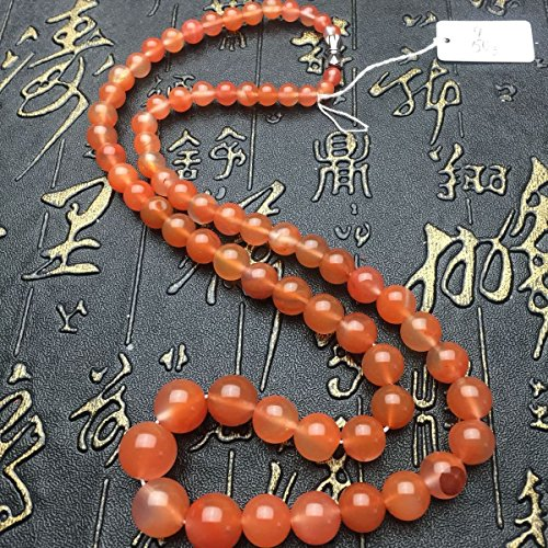 - TKHNE South Sichuan natural red agate cherry red bead necklace pendant tower chain original super-low prices goods
