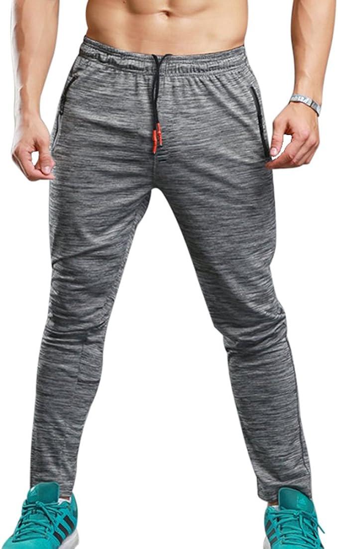 Pantalones de Verano de Fitness para Hombres elásticos ...