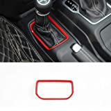 with Block Bestmotoring Carbon Fiber ABS Car Central Control Panel Cover Trim,Car Interior Trim,Car Gear Shift Panel Decoration Cover Trim for Mercedes Benz C Class 2015-2018,GLC
