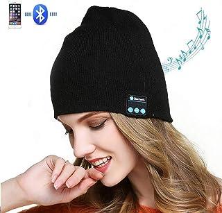 Z-overlord Cappello Bluetooth Wireless Bluetooth Musica Cappello Inverno Cappello Gap per Outdoor – Sport Sci – Campeggio Escursioni Thanksgiving Natale Regali