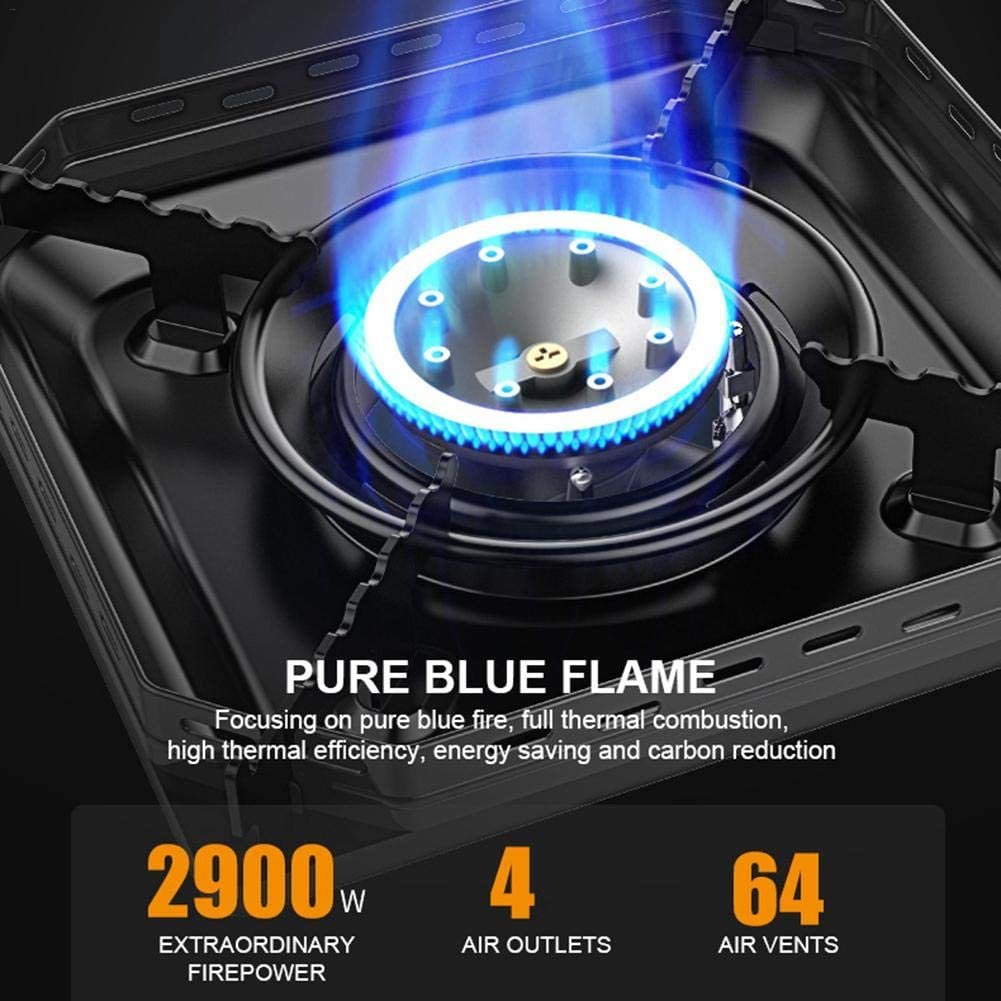 camping cooker gas stove high temperature resistant cassette stove for outdoor use small gas tank Terynbat Cassette stove outdoor cooker