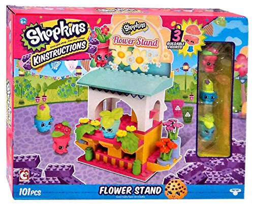 The Bridge Direct Shopkins Kinstructions - Flower Shop Building Kit