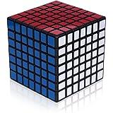Findbetter 7S スピードキューブ 7x7x7 競技用7x7 7階 黒素体 世界基準配色 PVCシール 脳トレ 知育玩具競技専用 ポップ防止 回転スムーズ 70x70x70mm