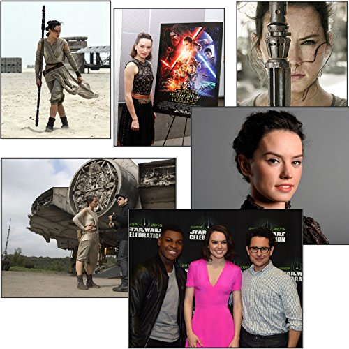Daisy Ridley Photos   Rey In Star Wars Episode Vii  7  The Force Awakens 6 Pack Of 8X10s