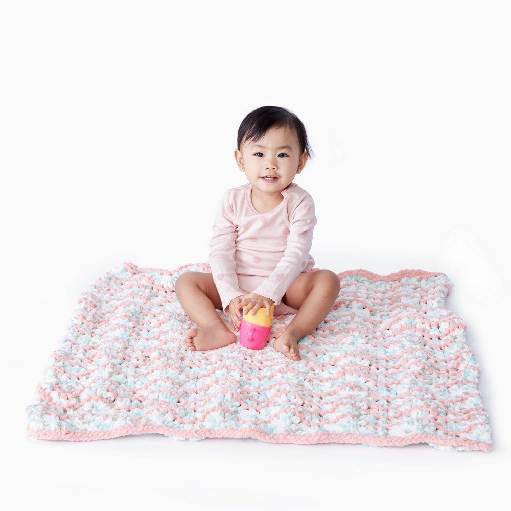 BERNAT Baby Blanket Yarn White Fibre: 100/% Polyester 100 g