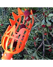 "Kicode Fruit Picker Basket Head Plastic Labor Saving Tool Fruits Catcher for Harvest 7.8 * 3.1 * 3.1"""