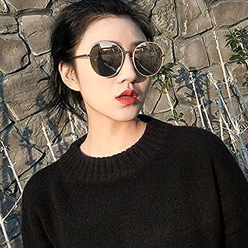 VVIIYJ Gafas de Sol polarizadas Mujeres Gafas Redondas ...