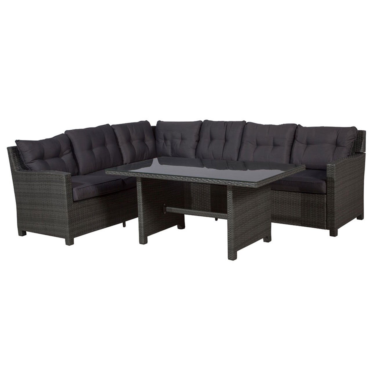 rattan gartenm bel dining lounge set outliv aboyne. Black Bedroom Furniture Sets. Home Design Ideas