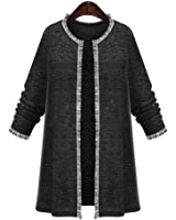 Olrain Women's Plus Size Knitted Cardigan Sweater Autumn Coats