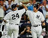 "Gary Sanchez & Aaron Judge New York Yankees MLB Action Photo (Size: 8"" x 10"")"