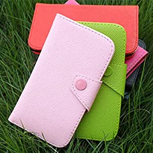 ModernGut (9Colors Available) For Samsung Ch@t 222 / Chat E2222 Leather case,Fashion Flip Wallet Cover Pouch + card holder,