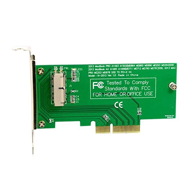 PCI Express PCI-E a 2013 para Apple Macbook Pro Convert tarjeta ...