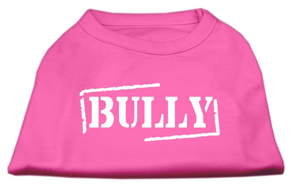 Dog   Cat   Pet Charms Bully Screen Printed Shirt Bright Pink XL (16)