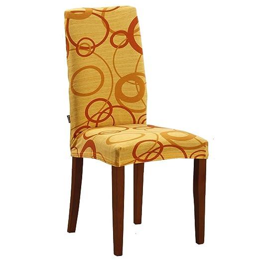 70 opinioni per Joker Coprisedia vesti sedia millerighe elasticizzato 2 pezzi linea Cerchio L680
