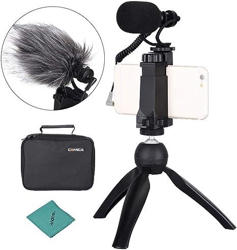 CoMica CVM-VM10-K2 Kit de Plataforma de Video para Smartphone con ...