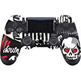 PS4 Controller for Wireless PS4 Remote Compatible with Playstation 4 Slim Pro PC with Dual Vibration/Stereo Headset Jack/Touc