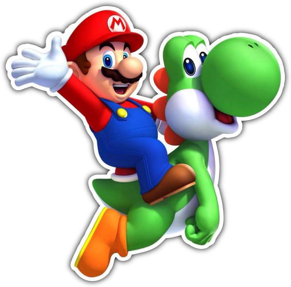 """Super Mario Indoor//Outdoor Vinyl Sticker 12/"""" x 12/"""""""