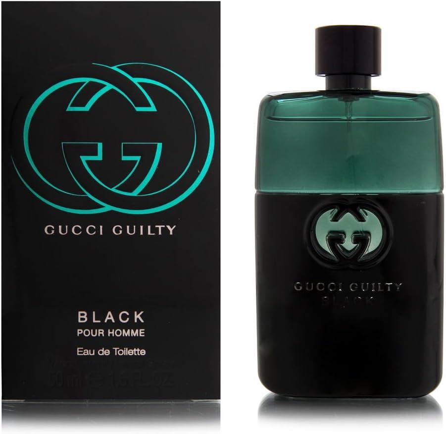 Gucci - Guilty Black Pour Homme - Eau de Toilette para hombres - 50 ml