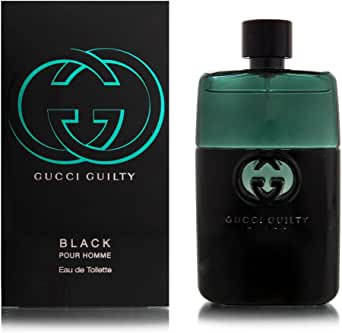 Gucci Guilty Homme Eau de Toilette Spray, Black, 50ml