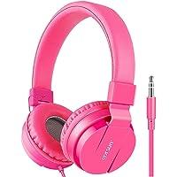 Kids Headphones, Gorsun Lightweight Stereo Wired Children's Headsets for Kids Adults Adjustable Headband Toddler Headset…