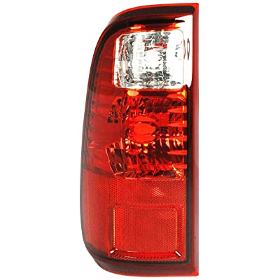 Left Driver Side Tail Light Assembly for 2008-2016 Ford F-250 Super Duty and 2008-2016 Ford F-350 Super Duty FO2800208 BC3Z13404A: Automotive
