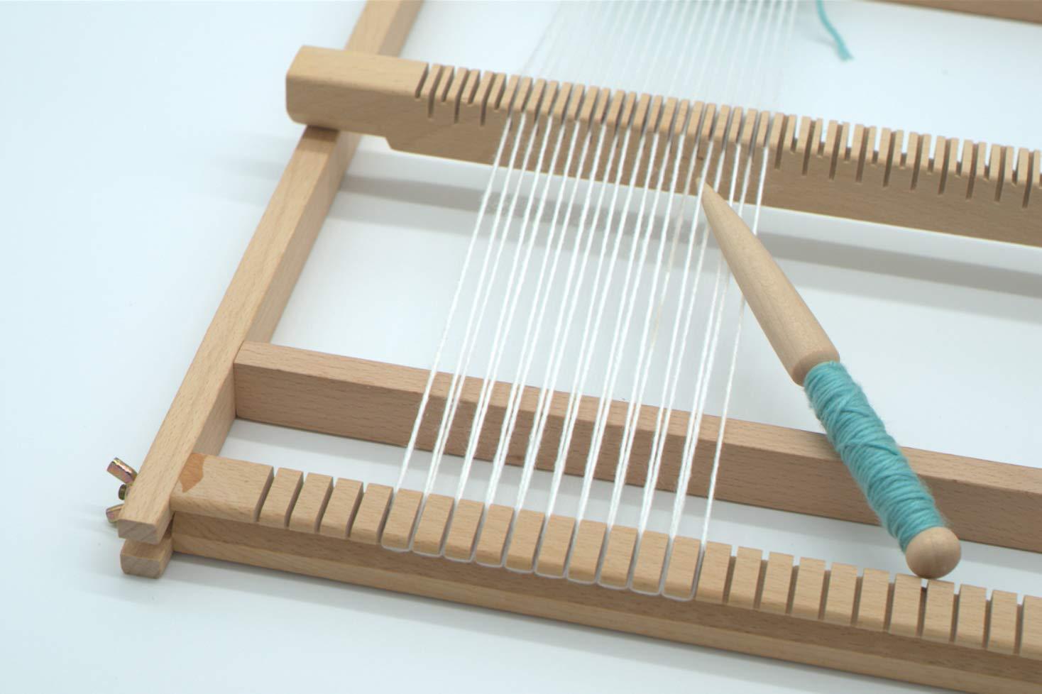 1 Pcs AROYEL Single Beech Weaving Stick Needle
