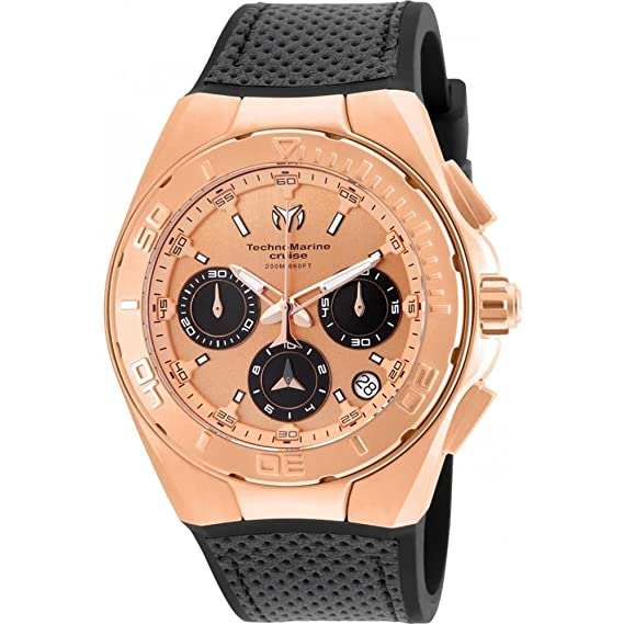 Amazon.com: Technomarine TM-115346 Unisex 45mm Cruise Collection: Watches