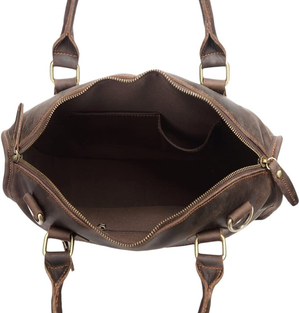 Bxfdc Shoulder Messenger Bag Mens Tote Retro Mens Handbag Business Briefcase
