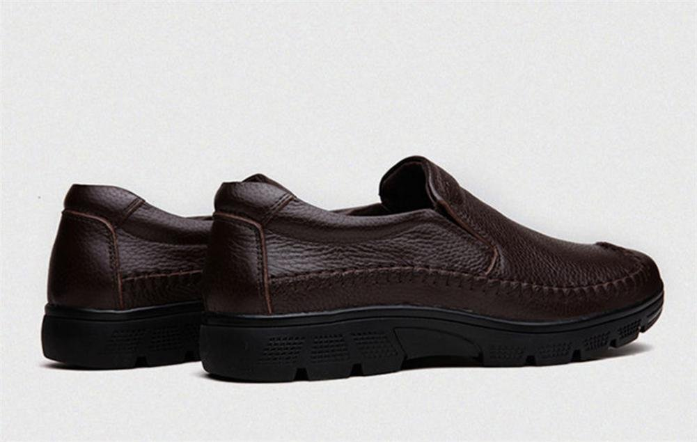 Männer Freizeit Leder Schuhe Schuhe Schuhe Geschäft Formal Herbst Winter Gemütlich Beiläufig Schwarz Braun Groß Größe 37-47  4f56e1