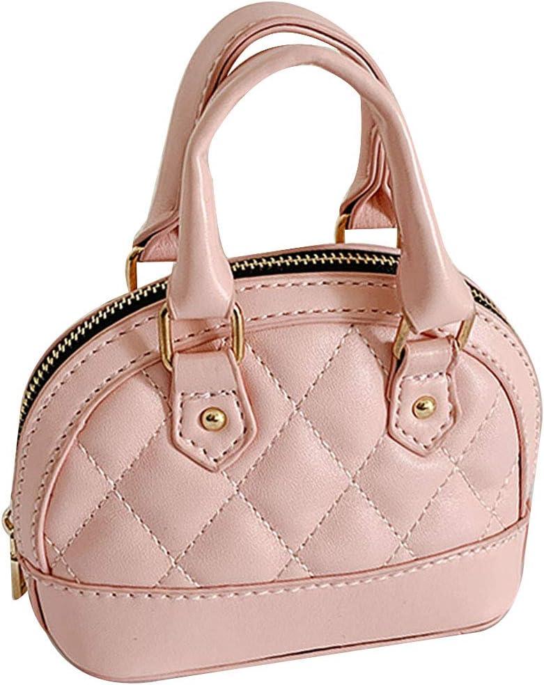 ربيكا جيرلز ميني شيل حقيبة يد للأطفال لطيف أعلى مقبض حقيبة يد سلسلة كروسبودي