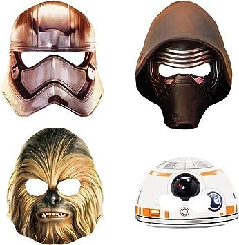 Amazon.com: Fiesta única de Star Wars., Máscaras de fiesta ...