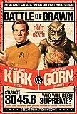 Star Trek Poster Kirk vs Gornstar (61cm x 91,5cm)