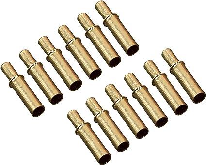 30Pcs Archery Arrow Plastic Nock Aluminum Pins Shaft for ID 6.0mm 4.2mm Arrows