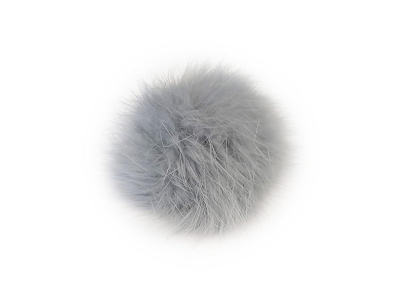 La Loria Femme Clips Pompon Plush Ball Amovible Accessoires Bijoux de chaussures, 2pcs F 185