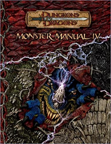 Monster Manual IV (Dungeons & Dragons d20 3.5 Fantasy Roleplaying ...