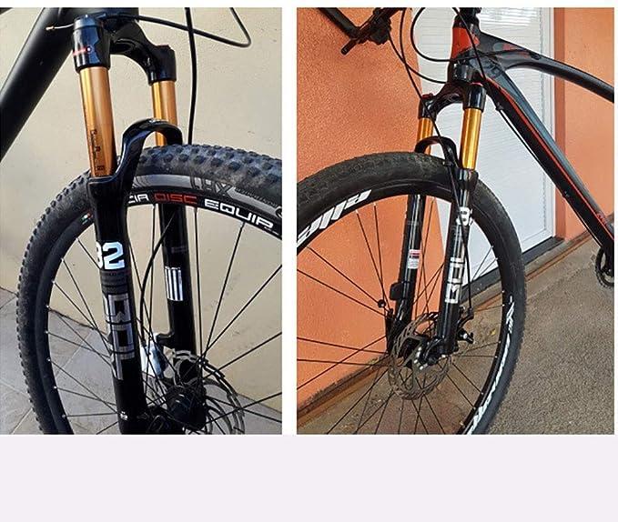 DLSMB-SP Marco de Bicicleta Montaña Delantera de la Bici Tenedor ...