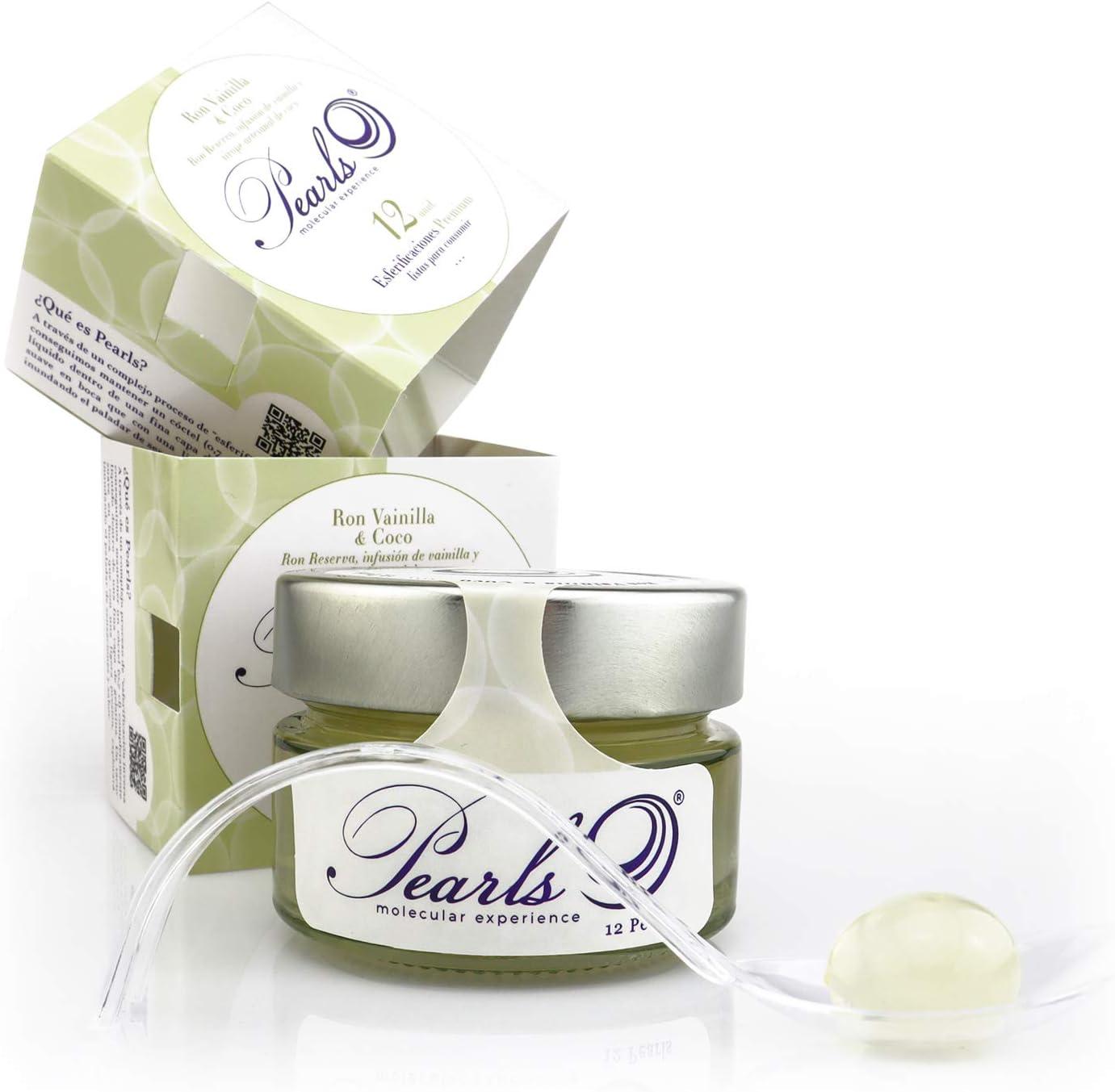 12 Pearls Ron Vainilla & Coco - Esferificaciones Premium ...