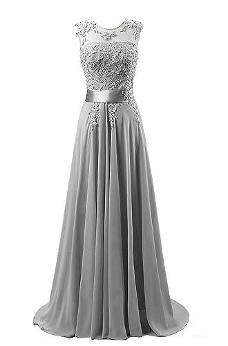 Kmformals Women's Long Lace Prom Evening Dresses