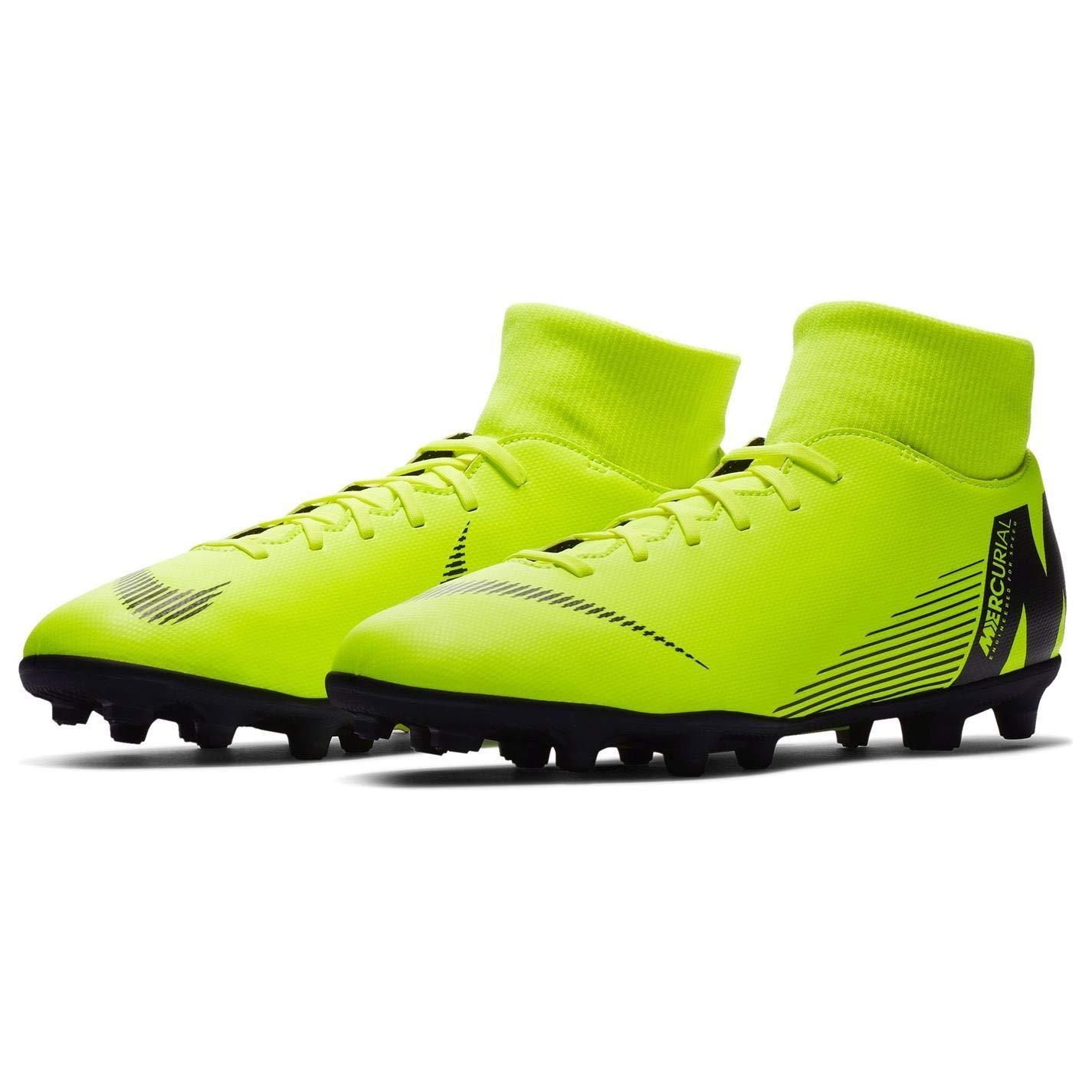 Jaune 44 EU Official , Chaussures de Football pour Homme