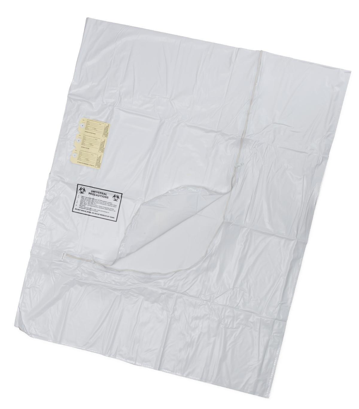 Medline NON70540WM Body Bags, 36'' x 90'', Adult, White (Pack of 10)