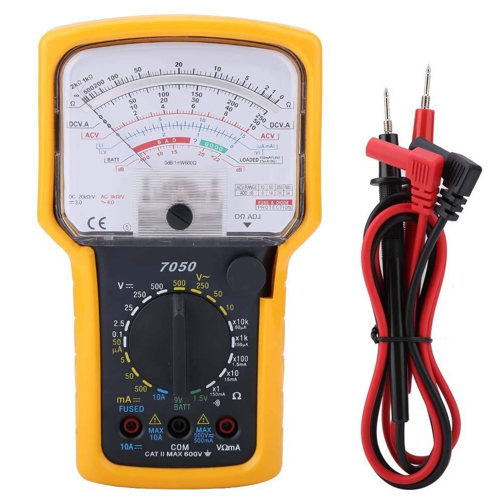 Analog Multimeter - KT7050 Multifunction High Sensitivity High Precision Ohm Test Meter Analog Multimeter by MLMLH
